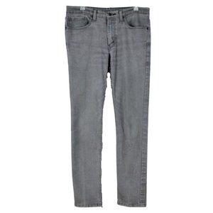 Levis Men's 511 Slim Fit Tapered Leg  Size 34 x 32